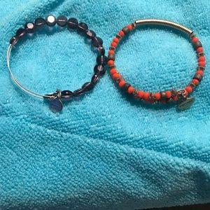 Alex and ani beaded bracelets